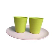 Tasses à coques en fibre de bambou biodégradables
