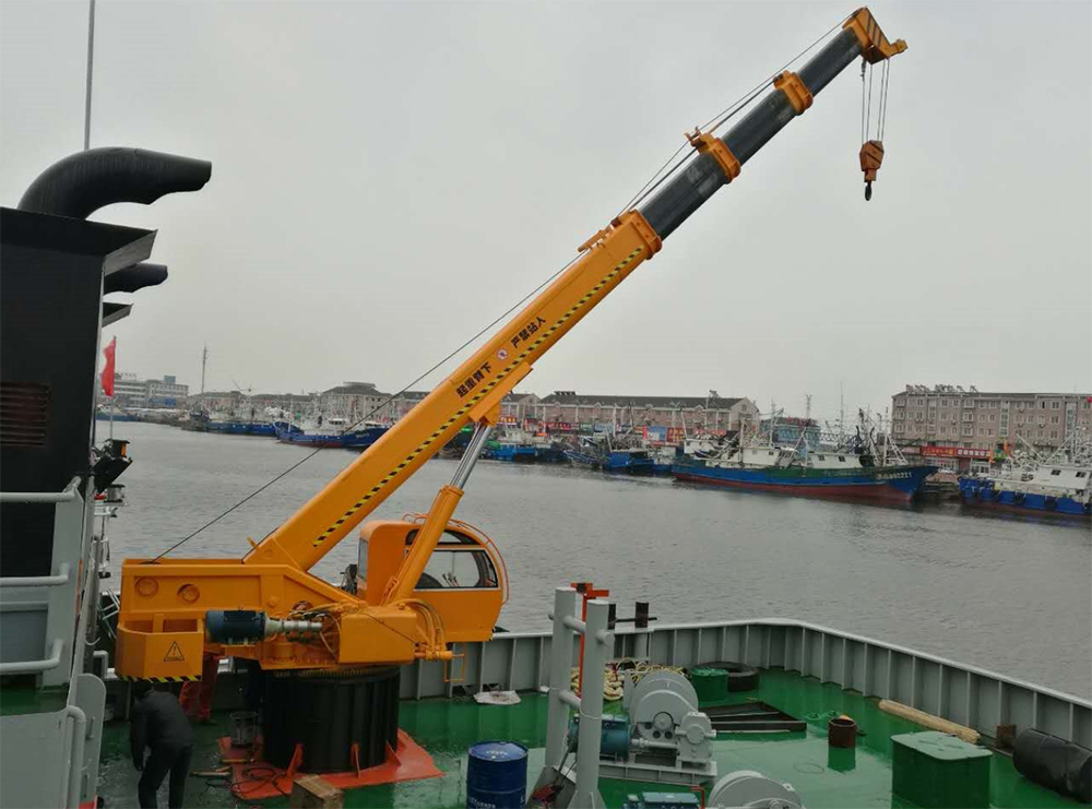 Used Marine Deck Crane For Sale