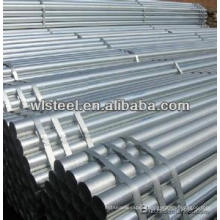 en10255 s195 hot dipped galvanized steel pipe,erw galvanized pipe