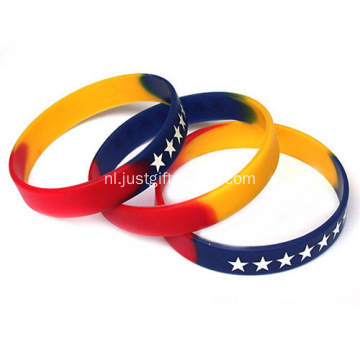 Budget Gevulde Segment Adult Silicone Wristbands
