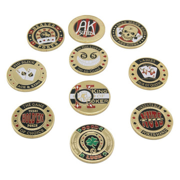 USA Metal Pressing Guard Protector Poker Chip Coins