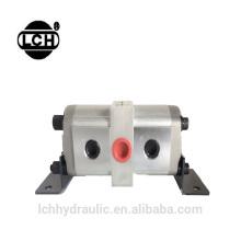 flow divider 2 stage hi lo 20mpa 210mpa high pressure gear pump
