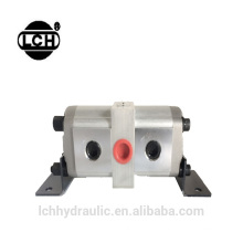 fluxo divisor 2 estágio hi lo 20mpa 210mpa bomba de engrenagem de alta pressão