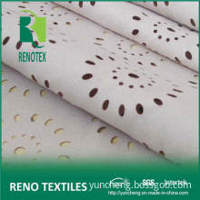 100%Polyester 105dx300d Garment Fabrics Puched Suede / Wholesale Fabric