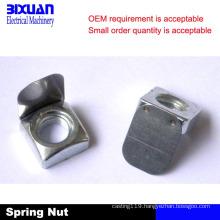 Leaf Spring Nut, Spring Nut, Square Nut
