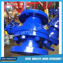 Válvula de bola de muelle de fundición de acero Catbon industrial