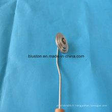 Rouleau de rouleau en aluminium pour rouleau de laminage FRP