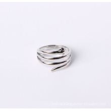 Snake Design Jewelry Ring Good Quality Rhodium Plated