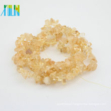 AAA quality natural agate orange gemstone chips semi precious beads