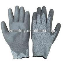 С полиуретановым покрытием сократить устойчивые перчатки для стекла обработка ZM779