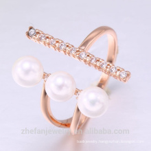 discount ring pearl pearl jewelry freshwater pearls ring with rhodium plating