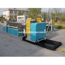 Máquina de producción de extrusión de manguera reforzada con alambre de acero de PVC