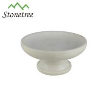 elegant white marble fruit platter