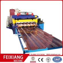 1000/1200mm Width color steel roll forming machine