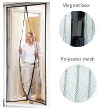 Magnetische Bildschirmtür mit Polyester und Reißzwecke