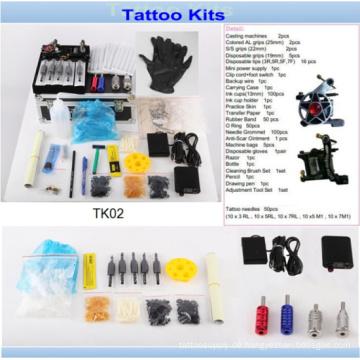 Großhandel günstige professionelle Tattoo-Set mit Marke Qualität Tk02