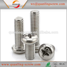 Venta por mayor de alibaba china avellanado tornillos de cabeza tornillos de máquina de acero al carbono