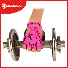 Fitnesstraining und Fitnessübungshandschuhe