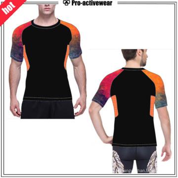 Fábrica de OEM Mesh Man Fitness Compression Wear