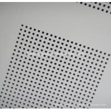 PVC gypsum board perforated gypsum board ceiling board design