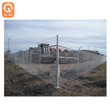 ASTM A392 wholesale 8 foot gates fittings post 36 inch galvanized chain link fence for industrial property