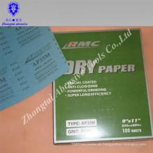 Wasserfestes Schleifpapier, Siliziumkarbidkorn, grünes Papier P60-2000