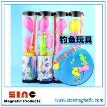 2016 Date Early Educational Barreled magnétique de pêche jouet