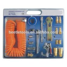 ferramenta pneumática de 21 pcs kit de acessórios pneumáticos