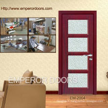 4. CE pas cher chambre en plastique en bois porte intérieure en bois