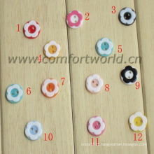 Children DIY Plastic Button