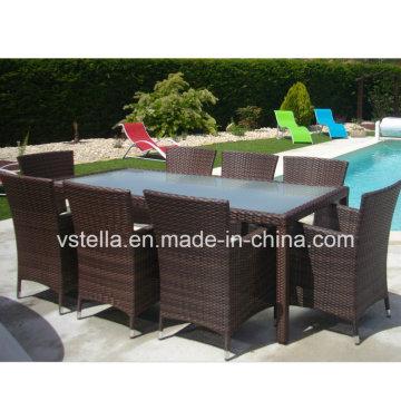 Restaurante Jardim Patio Wicker Rattan Cadeira de jantar