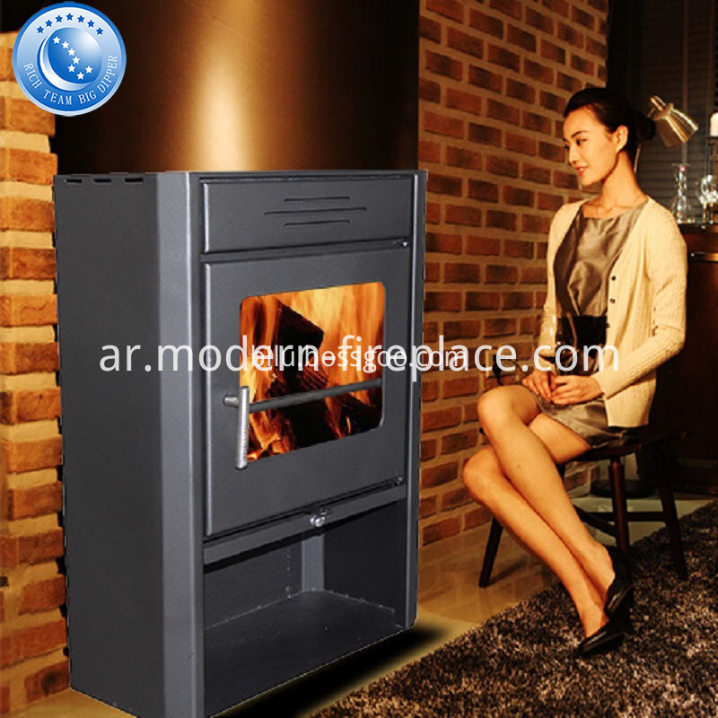2016 New Design Steel Plate Wood Burning Stoves