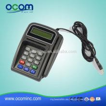 Teclado POS KB887 con lector de tarjeta inteligente magnética y chip