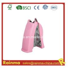 Plastic High Quality Pink Mini Stapler