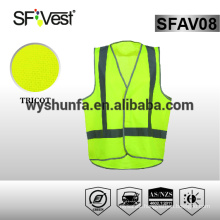 hi vis safety vest personal protective clothing Australia style traffic safety reflective tape