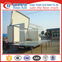 Dongfeng mobile show stage truck,mobile stage truck for road show