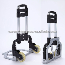 Folding aluminium hand trolley luggage cart.