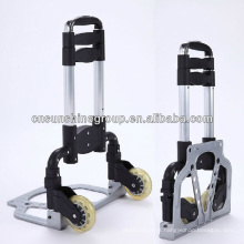Folding aluminium hand trolley luggage cart.