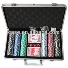 Алюминий покер чипа случае