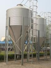 Galvanized Steel Silo for Poultry and Livestock