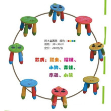JQ brinquedos duráveis e coloridas crianças cadeiras de plástico cadeiras