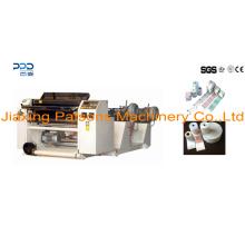 China Buena fabricación 2 capas de papel térmico a dos caras que raja la maquinaria