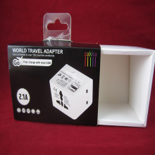Print Paper Box For Dual USB Charge