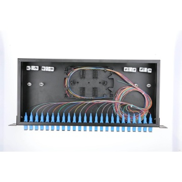 24 Port Rack Mounted Fiber Patch Panel
