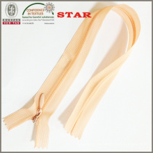 (3 #) Invisible cinta de encaje cremallera