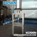 Cast Steel Pneumatic Actuator Square Gate Valves