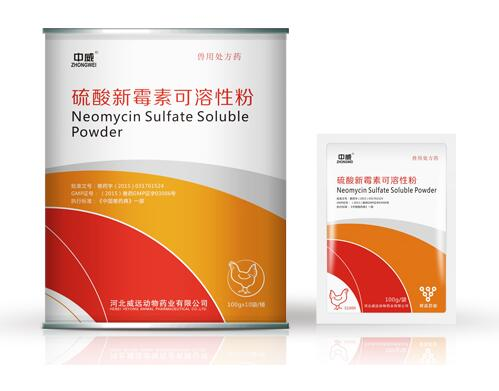 Veterinary medicine neomycin sulphate powder