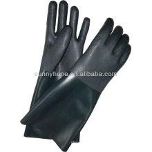 Перчатки из ПВХ с песочным покрытием