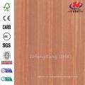 JHK-001 Beautiful Rusia Sapeli Lámina Liso Decorativo FSC Mejor Panel de la Puerta