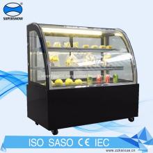 Supermarket Refrigerated Cake Bakery Display showcase